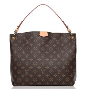 LOUIS VUITTON Monogram Graceful PM Hobo Bag